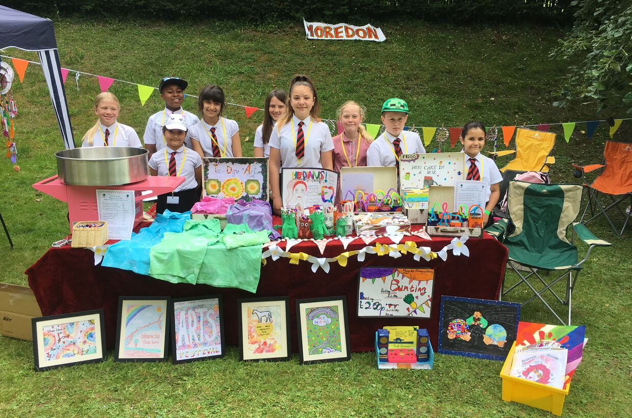 Creativity Shines at The White Horse Federation's Art Festival