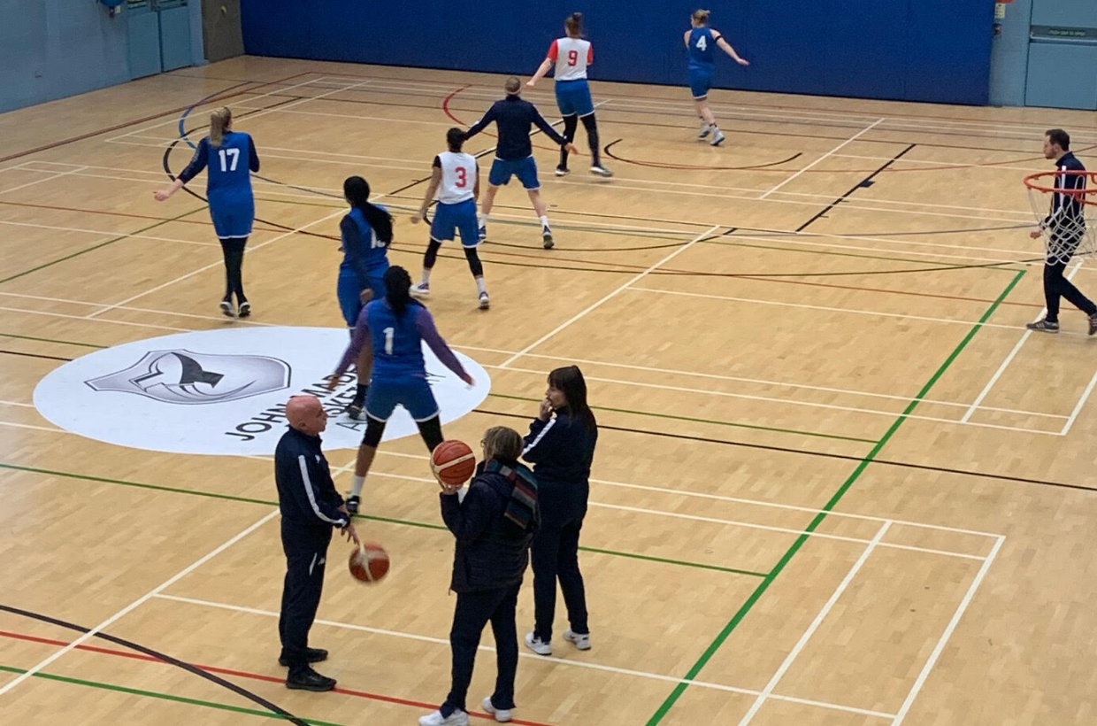 British Basketball Stars Train at John Madejski Academy